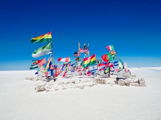 entrée du Dakar salar d'uyuni Bolivie