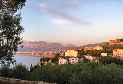 Coucher du soleil à Sorrente